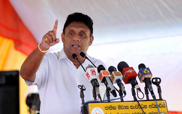 Solution to ethnic problem within 6 months without aggravating Sinhalese People, says Sajith to TNA, in Jaffna