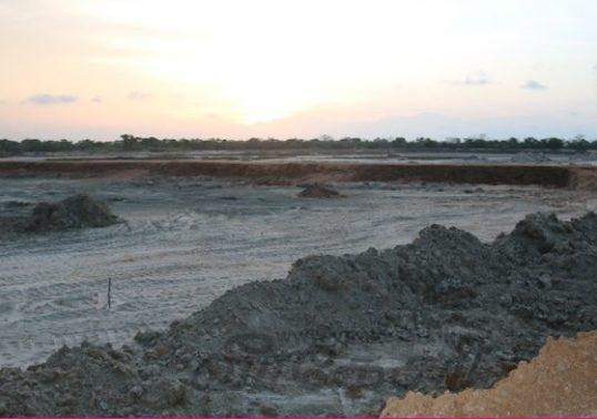 Southern Company setting up illegal saltern in Kilinochchi / Uruthirapuram