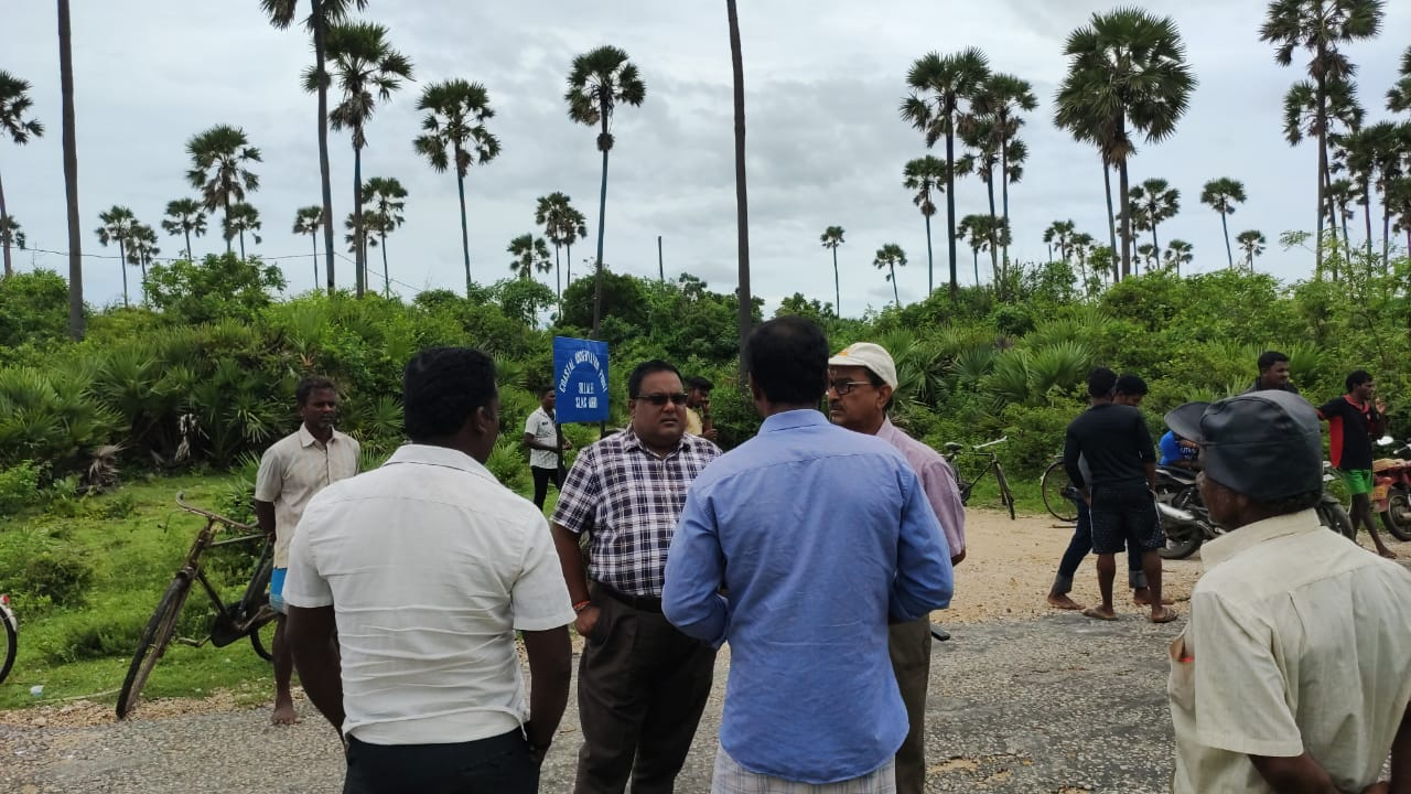 Surveying in 3 places of Jaffna for Land Acquisition – Lands to be acquired, in 60 places in North & East