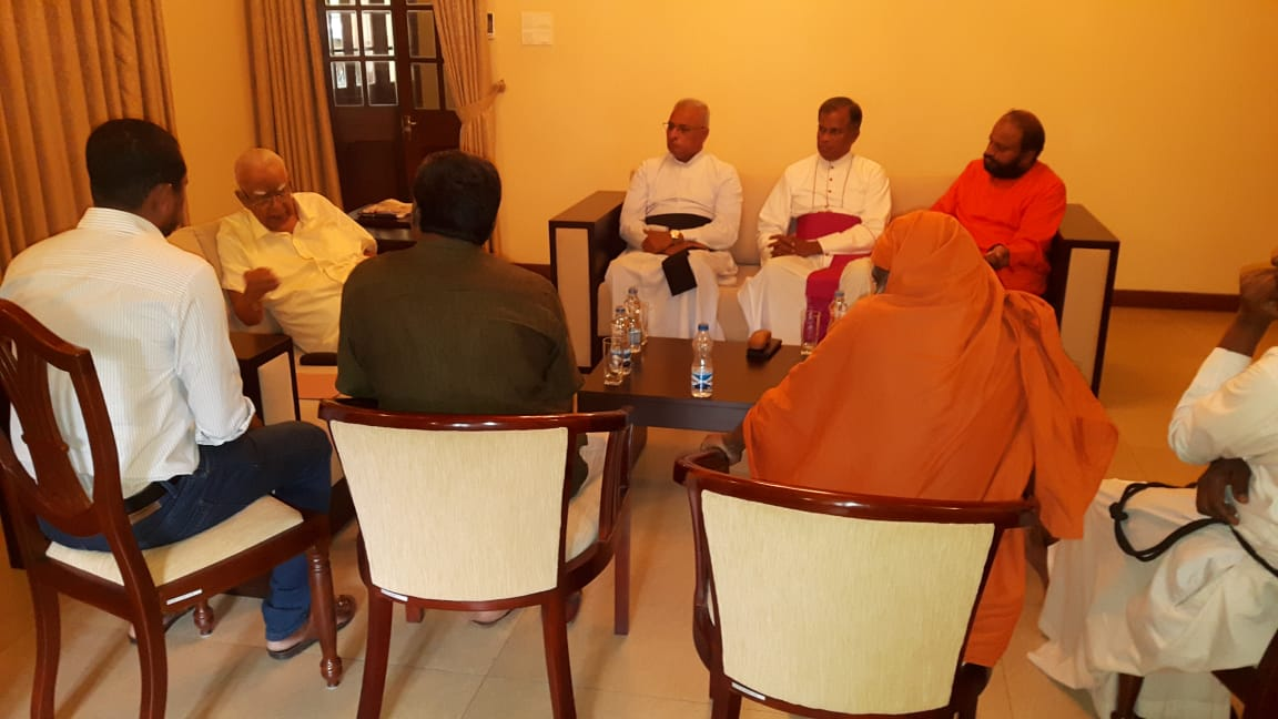 Stance of Tamil people for President's Election – Independent group discuss with TMK and EPRLF