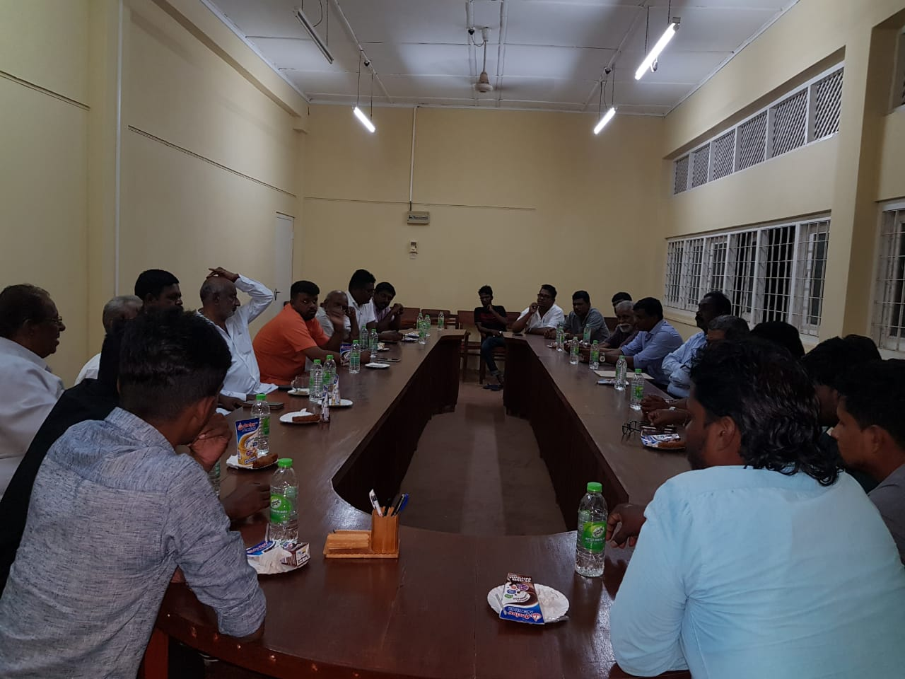 University Students Federation holds a meeting with representatives of Tamil political Parties