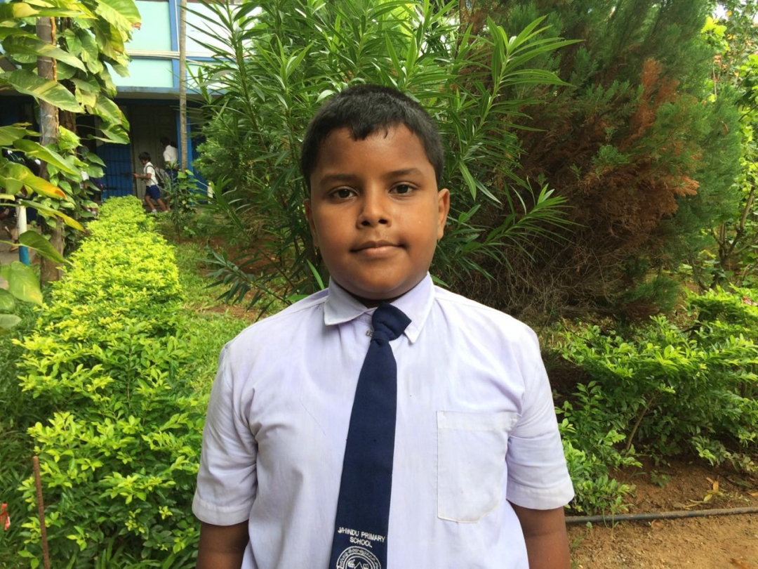 Year 5 Scholarship Examination results published. Y. Aarushan ( J/Hindu Primary)  in 1st place in North