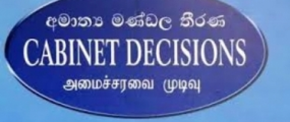 Cabinet approves construction of Twin- Flats in Jaffna to re-settle 250 displaced Muslims