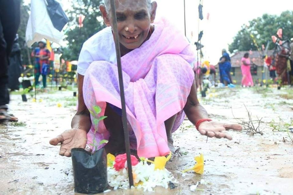 All Maveerar Thuyillumillams soaked in tears  People brave all threats to honour their children
