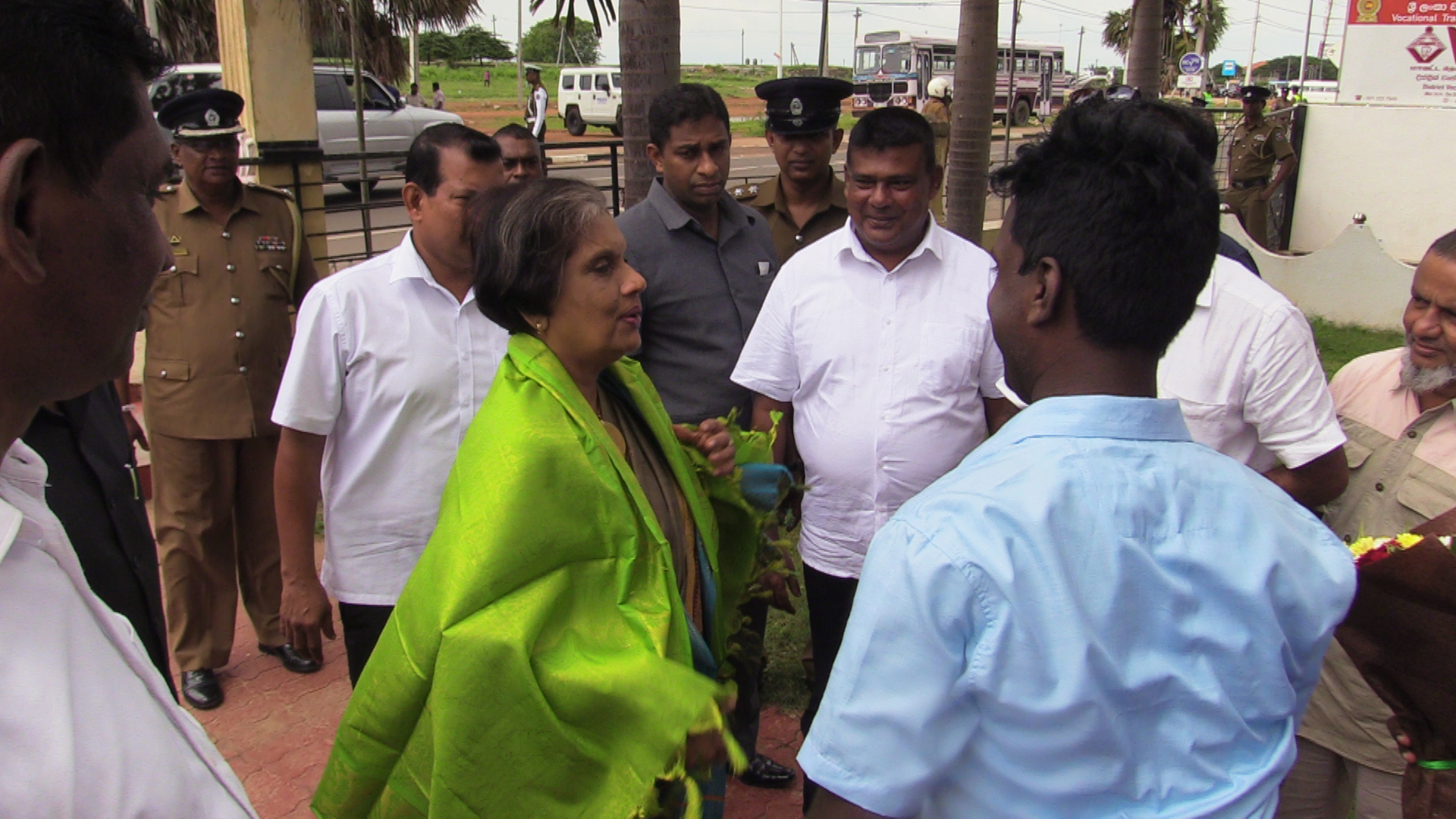 No space should be granted to Oppressive Regime, says Chandrika in Jaffna