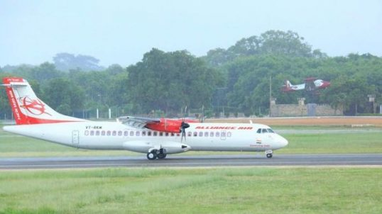 Jaffna – Chennai Air Service commence yesterday – Governor travels in the inaugural flight