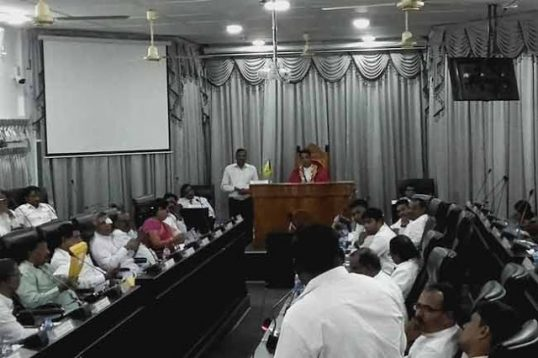 Budget -2020 of Jaffna Municipal Council defeated by 21: 16
