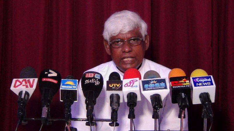 Establishing a Commission to study the release of TPPs ,  an eye-wash, says Rev. Sakthivel