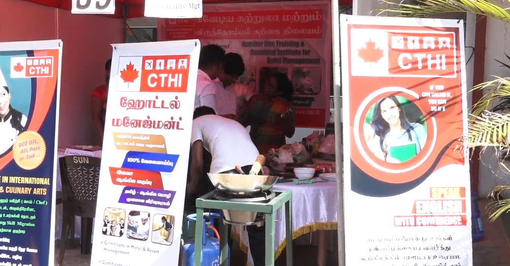 Grand Employment Market held yesterday in Jaffna under the aegis of Employment Department