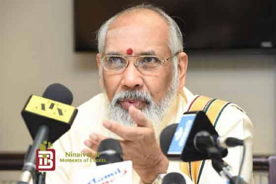 All Tamil Parties should unite under Sri Kantha, says Justice Wigneswaran