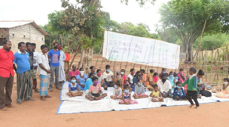 Our struggle will continue till a solution is delivered , say people of Vav/Kanchuramoddai