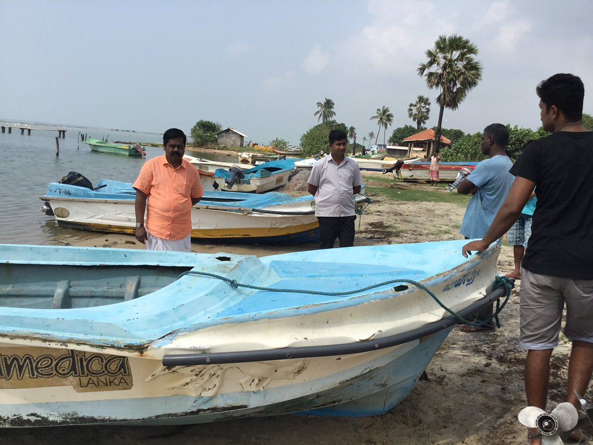 Thenmaradchchi Fishermen affected by transgressing fishermen, Society complaints to Minister
