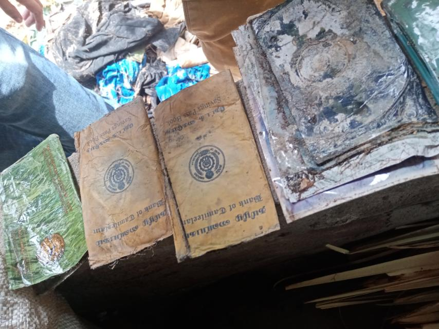 Tiger 's documents recovered in Mathalan