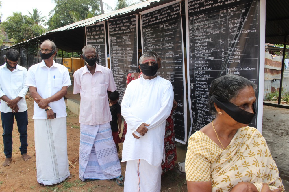 30thAnnual Commemoration of kins made to disappear in the Sithandi area observed