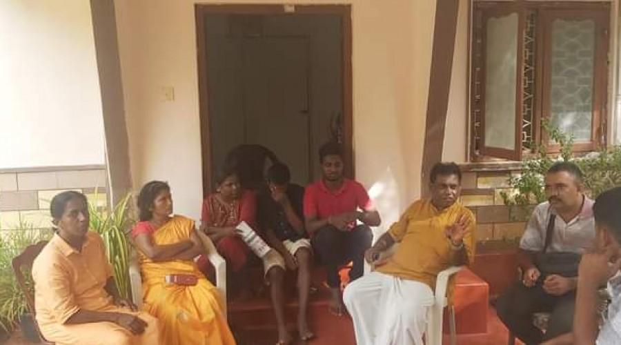 Ankajan, Ananthy, Sivajilingam comfort Sasikala, decides to file injunction on Sumanthiran Swearing in
