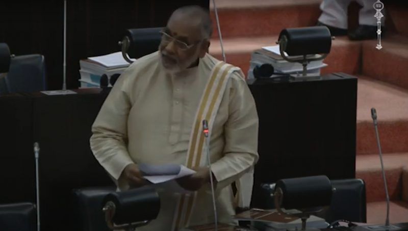 With whome the government is expecting another war?  The Tamils or the Indians or the Western Countries? : Wigneswaran questions in Parliament