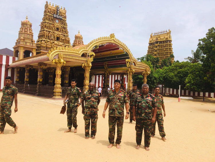 """No """"Two countries"""" nor """"Two Administration, as Sri Lankans we should live in unity, says District Army Commander"""