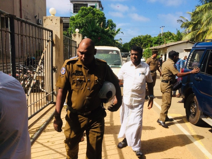 Sivajilingam released on bail after severe warning
