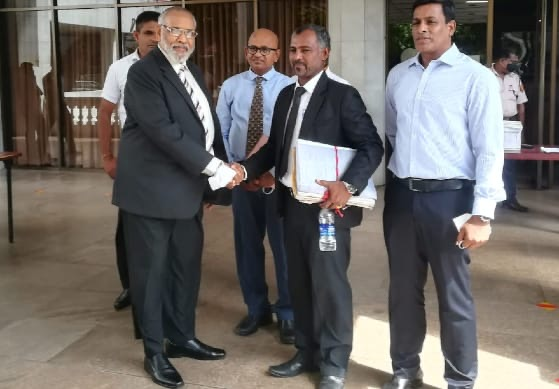Deneeswaran withdraws case against Wigneswaran, abandoning his conditions