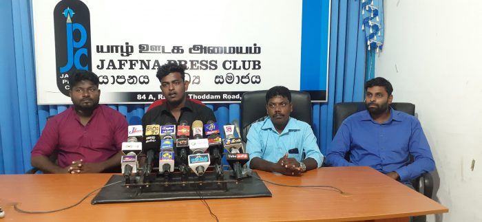 Youth teams from Tamil Political Parties meet yesterday
