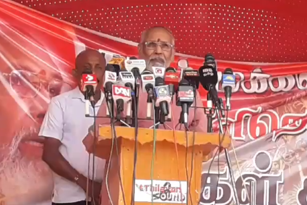 So far we have failed to speak about our real history: Only pressurizing will bring the Majority down from palaces in the air, says Wigneswaran