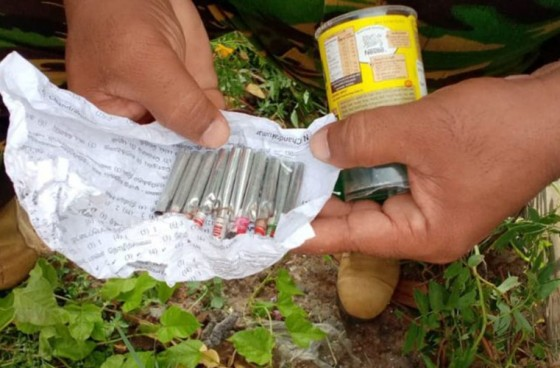 Explosives recovered near Jaffna St. Patrick's College