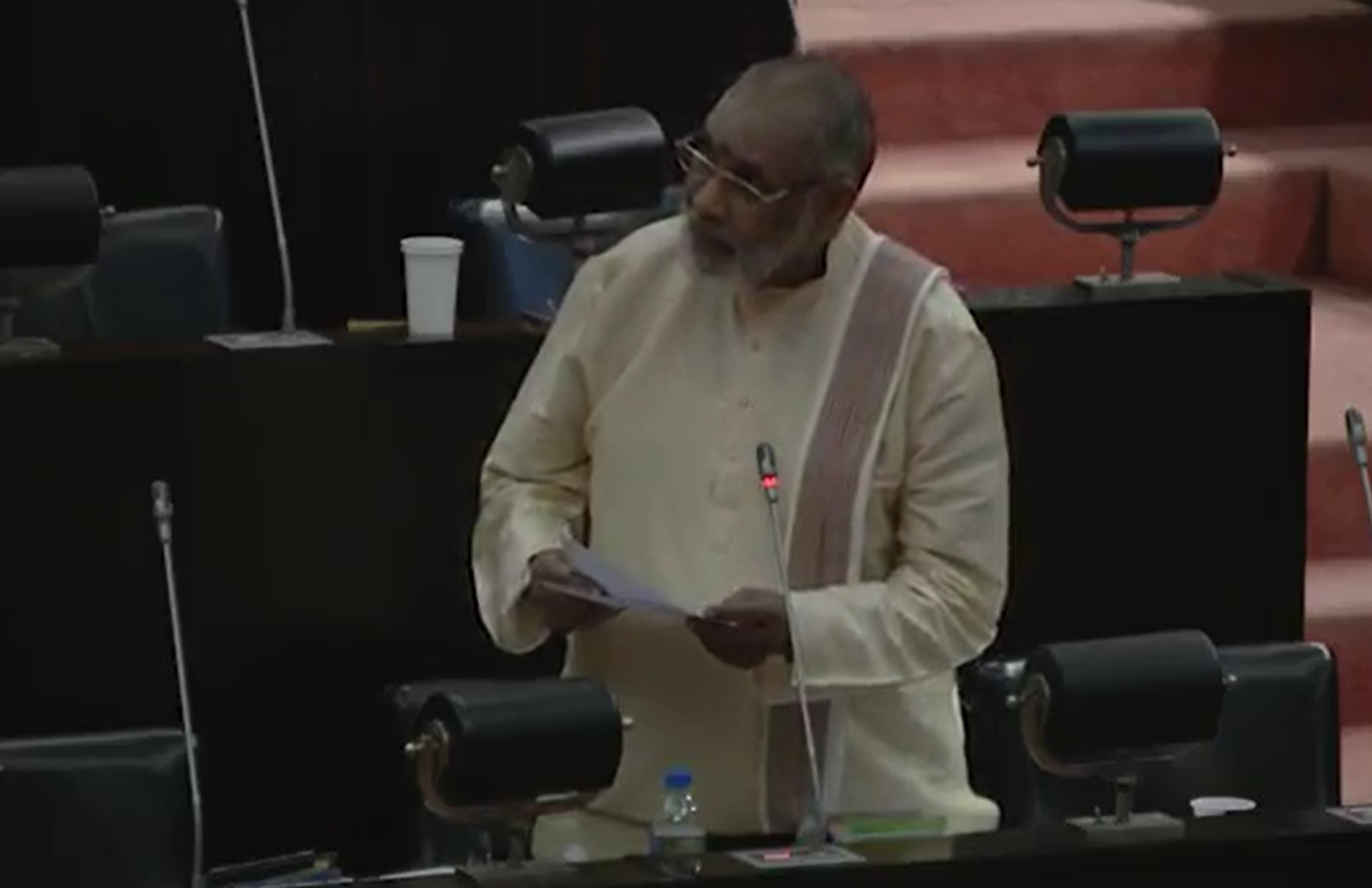 There is an agenda behind 20th amendment to crush the struggles of the Tamil people with an iron fist: Wigneswaran in Parliament