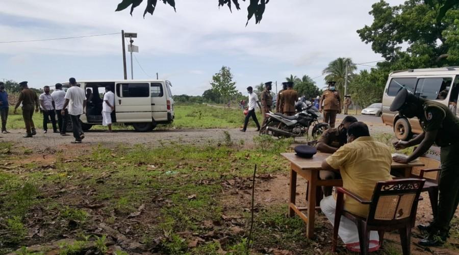 Cleaning activities undertaken at Kanagapuram Maveerar Thuyillumiilam- Statement obtained from Sritharan, MP