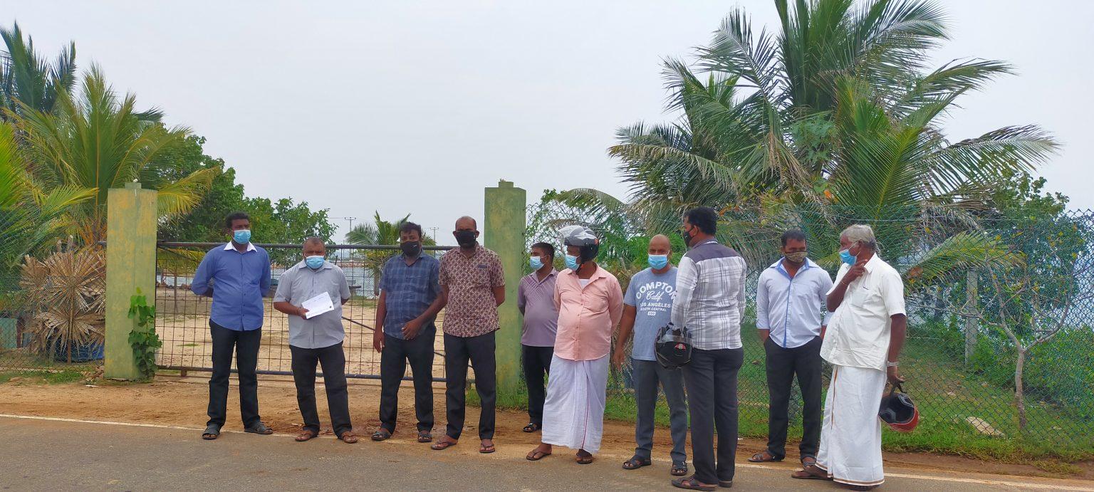 Land acquisition prevented in Mandaitheevu