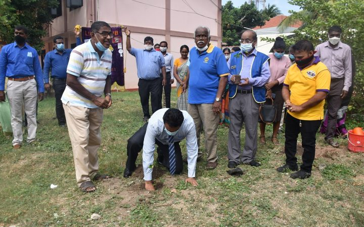 Tree planting Campaign in Mannar
