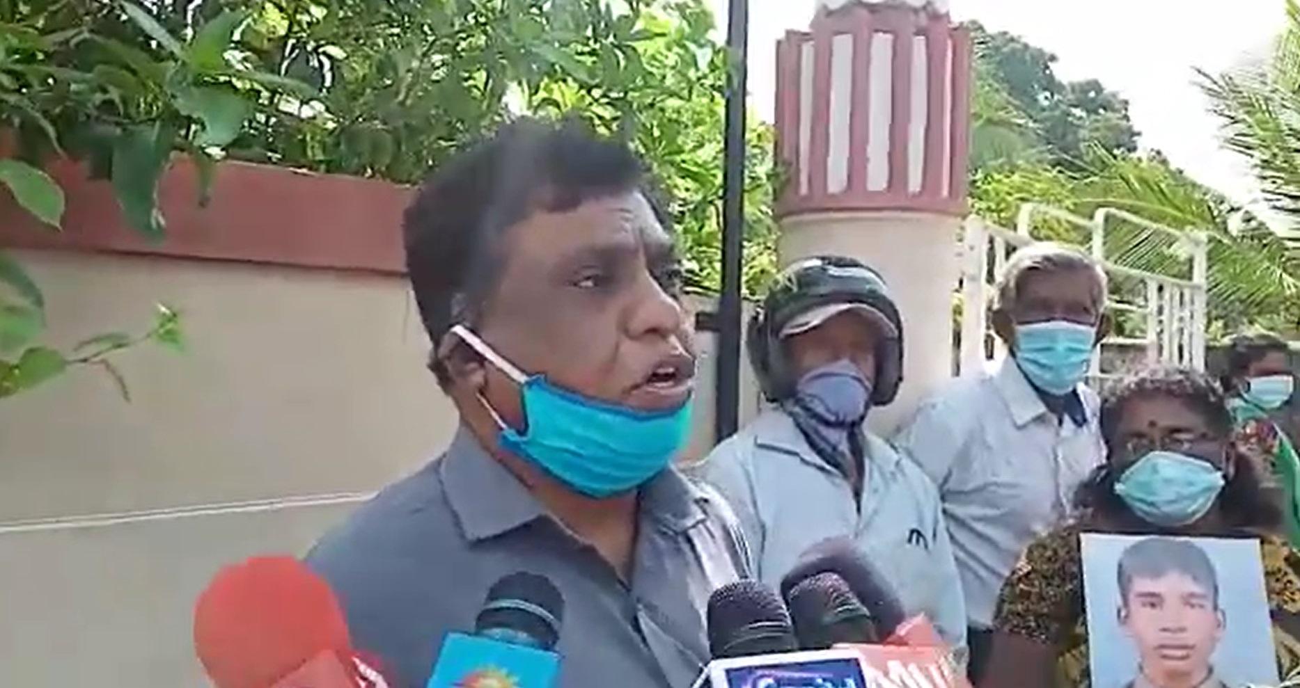 Human Rights Day Demo Jaffna 1